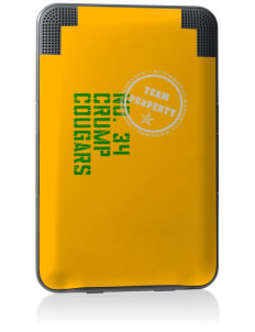 Crump Elementary School Cougars Kindle Keyboard 3G Skin