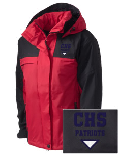 Christian Senior High School Patriots  Embroidered Women's Nootka Jacket