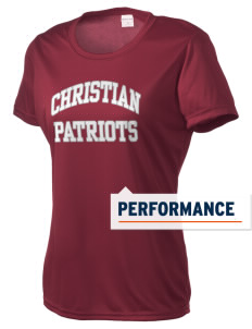 Christian Senior High School Patriots Women's Competitor Performance T-Shirt