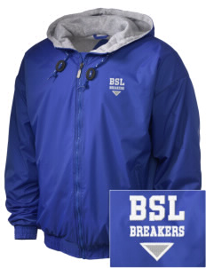 Beautiful Savior Lutheran School Breakers Embroidered Holloway Men's Hooded Jacket
