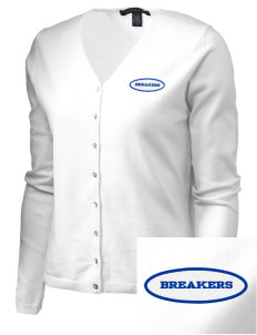 Beautiful Savior Lutheran School Breakers Embroidered Women's Stretch Cardigan Sweater