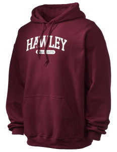 Hawley Middle School Bearcats Ultra Blend 50/50 Hooded Sweatshirt