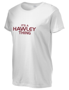 Hawley Middle School Bearcats Women's 6.1 oz Ultra Cotton T-Shirt