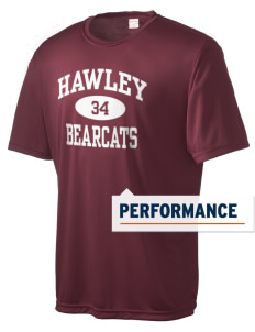 Hawley Middle School Bearcats Men's Competitor Performance T-Shirt