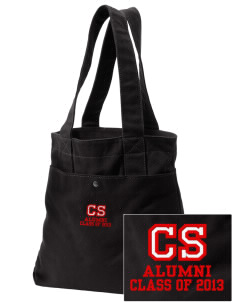The Carey School Eagles Embroidered Alternative The Berkeley Tote