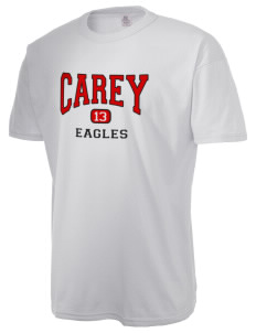 The Carey School Eagles  Russell Men's NuBlend T-Shirt