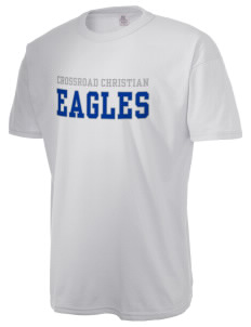 Crossroad Christian School Eagles  Russell Men's NuBlend T-Shirt