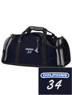 Spring Hill Advanced Elementary School Dolphins Embroidered OGIO All Terrain Duffel
