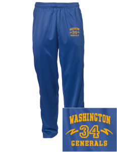 Washington School Generals Embroidered Men's Tricot Track Pants