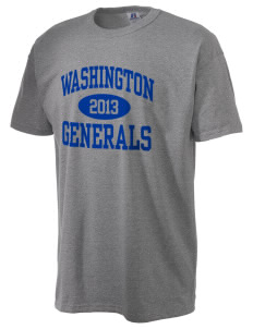 Washington School Generals  Russell Men's NuBlend T-Shirt