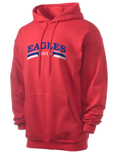 American Christian School Eagles Men's 7.8 oz Lightweight Hooded Sweatshirt