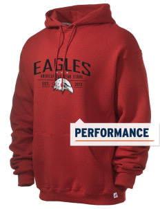 American Christian School Eagles Russell Men's Dri-Power Hooded Sweatshirt