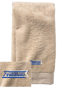 Lutheran High School East Falcons  Embroidered Zero Twist Resort Hand Towel