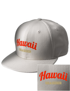 Hawaii Seasider  Embroidered New Era Flat Bill Snapback Cap