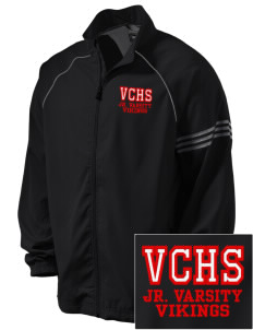 Valley Christian High School Vikings Embroidered adidas Men's ClimaProof Jacket