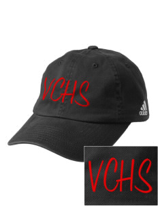 Valley Christian High School Vikings Embroidered adidas Relaxed Cresting Cap
