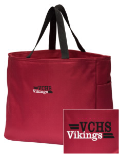 Valley Christian High School Vikings Embroidered Essential Tote