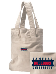 Samford University Bulldogs Embroidered Alternative The Berkeley Tote