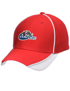 Samford University Bulldogs Embroidered New Era Contrast Piped Performance Cap