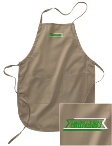 Clemons Lutheran School Crusaders Embroidered Full Length Apron
