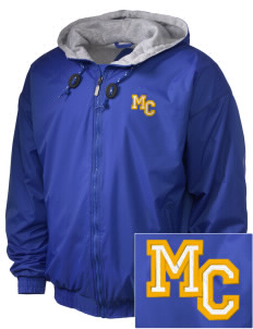 Morningside Christian School Eagles Embroidered Holloway Men's Hooded Jacket