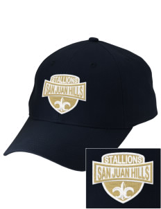 San Juan Hills High School Stallions Embroidered Low-Profile Cap