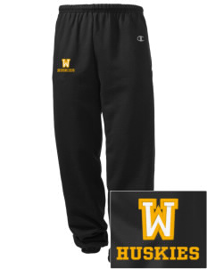 Whittier Elementary School Huskies Embroidered Champion Men's Sweatpants