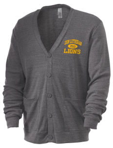 Zion Lutheran School Lions Men's 5.6 oz Triblend Cardigan