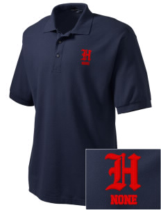 Hines none Embroidered Tall Men's Silk Touch Polo