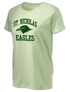 Saint Nicholas Catholic School Eagles Women's 6.1 oz Ultra Cotton T-Shirt