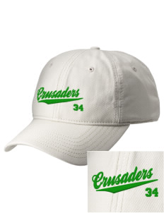 Watson Groen Christian School Crusaders  Embroidered New Era Adjustable Unstructured Cap