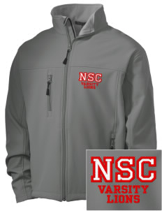 North Seattle Christian School Lions Embroidered Men's Soft Shell Jacket