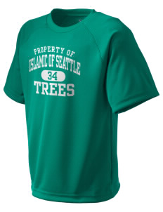 Islamic School Of Seattle Trees  Kid's Dry Zone T-Shirt