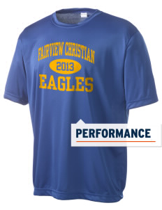 Fairview Christian School Eagles Men's Competitor Performance T-Shirt