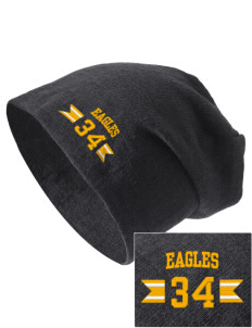 Fairview Christian School Eagles Embroidered Slouch Beanie