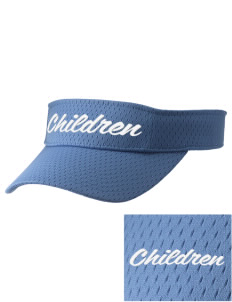 Hurray For Me! School Children Embroidered Woven Cotton Visor