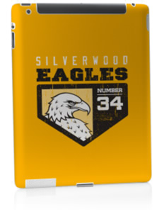 Silverwood School Eagles Apple iPad 2 Skin