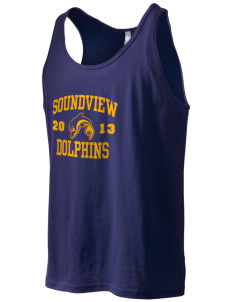 Soundview Private School Dolphins Men's Jersey Tank