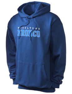 Middltown Middle School bronco Champion Men's Hooded Sweatshirt