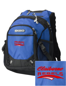 Claiborne Academy Rebels Embroidered OGIO Fugitive Backpack