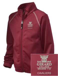 Girard College Cavaliers Embroidered Holloway Kid's Attitude Warmup Jacket