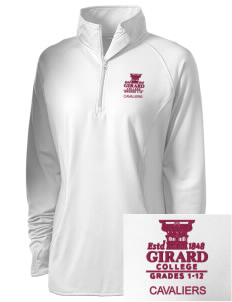Girard College Cavaliers Embroidered Ladies Stretched Half-Zip Pullover