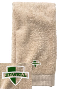 Howell High School Highlanders  Embroidered Zero Twist Resort Hand Towel