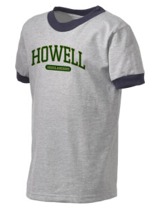 Howell High School Highlanders Kid's Ringer T-Shirt