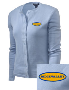 Ridgevalley School  Embroidered Women's Cardigan Sweater