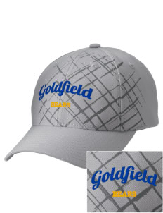 Goldfield School Bears Embroidered Mixed Media Cap