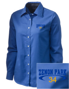 Zenon Park School   Embroidered Women's Pima Advantage Twill