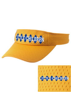John S Jones Elementary School Little Children Embroidered Woven Cotton Visor