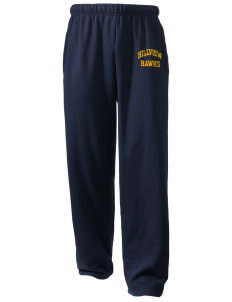 Hillview Elementary School Hawks  Holloway Arena Open Bottom Sweatpants