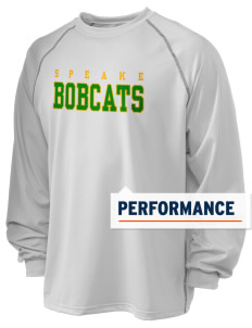 Speake School Bobcats Holloway Men's Fuel Performance Long Sleeve T-Shirt